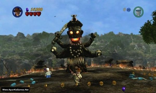 Lego Indiana Jones 2: The Adventure Continues Screenshot 2, Full Version, PC Game, Download Free