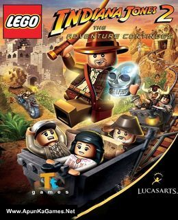 Lego Indiana Jones 2: The Adventure Continues Cover, Poster, Full Version, PC Game, Download Free