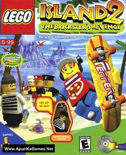 Lego Island 2: The Brickster's Revenge Cover, Poster, Full Version, PC Game, Download Free
